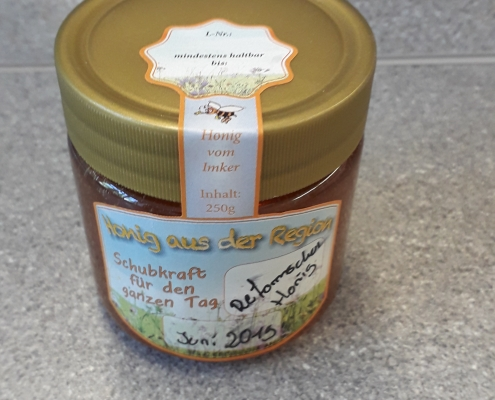 Honig aus der Imker-AG