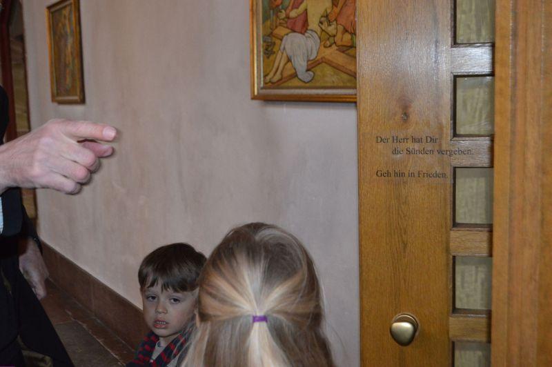 Besuch Kirche