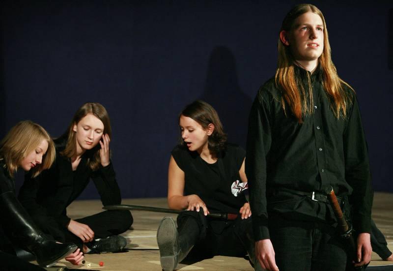 Macbeth und seine Gefolgsleute
